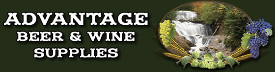 Advantage Beer and Wine Logo